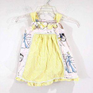 Girls Sz 2-3 Handmade Disney Princess Dress